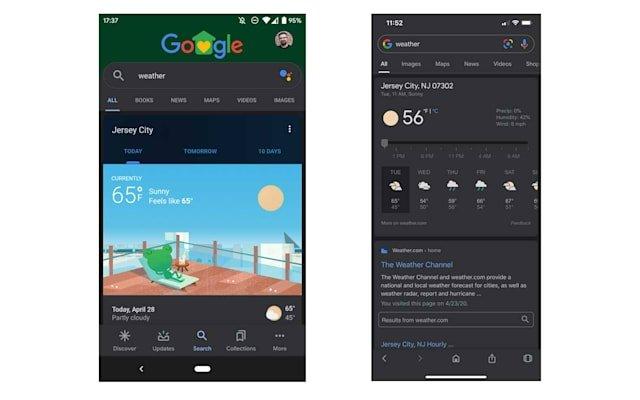 Google pesquisa android