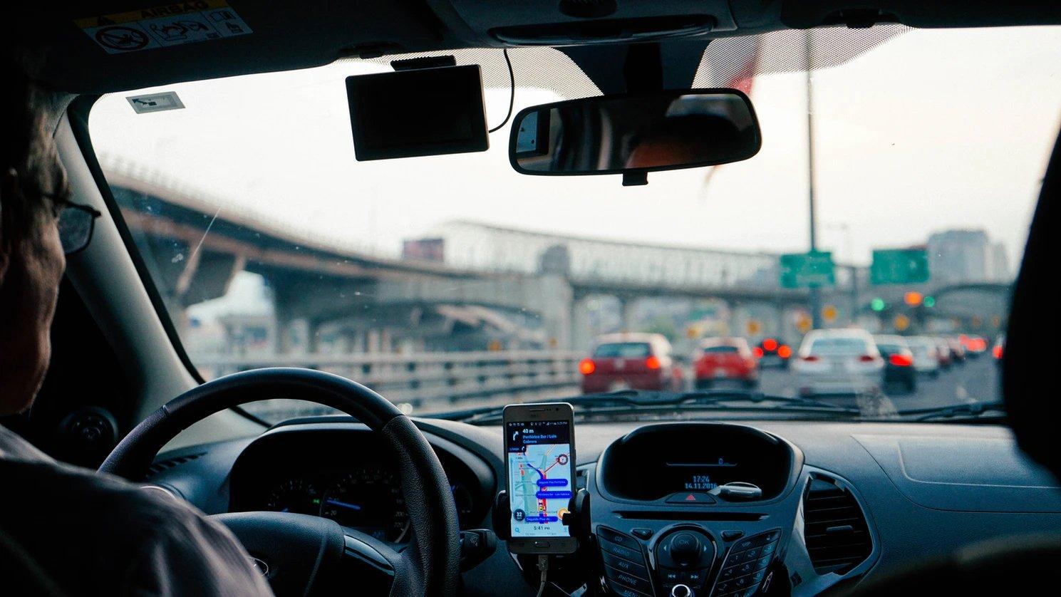 uber carro funcionário