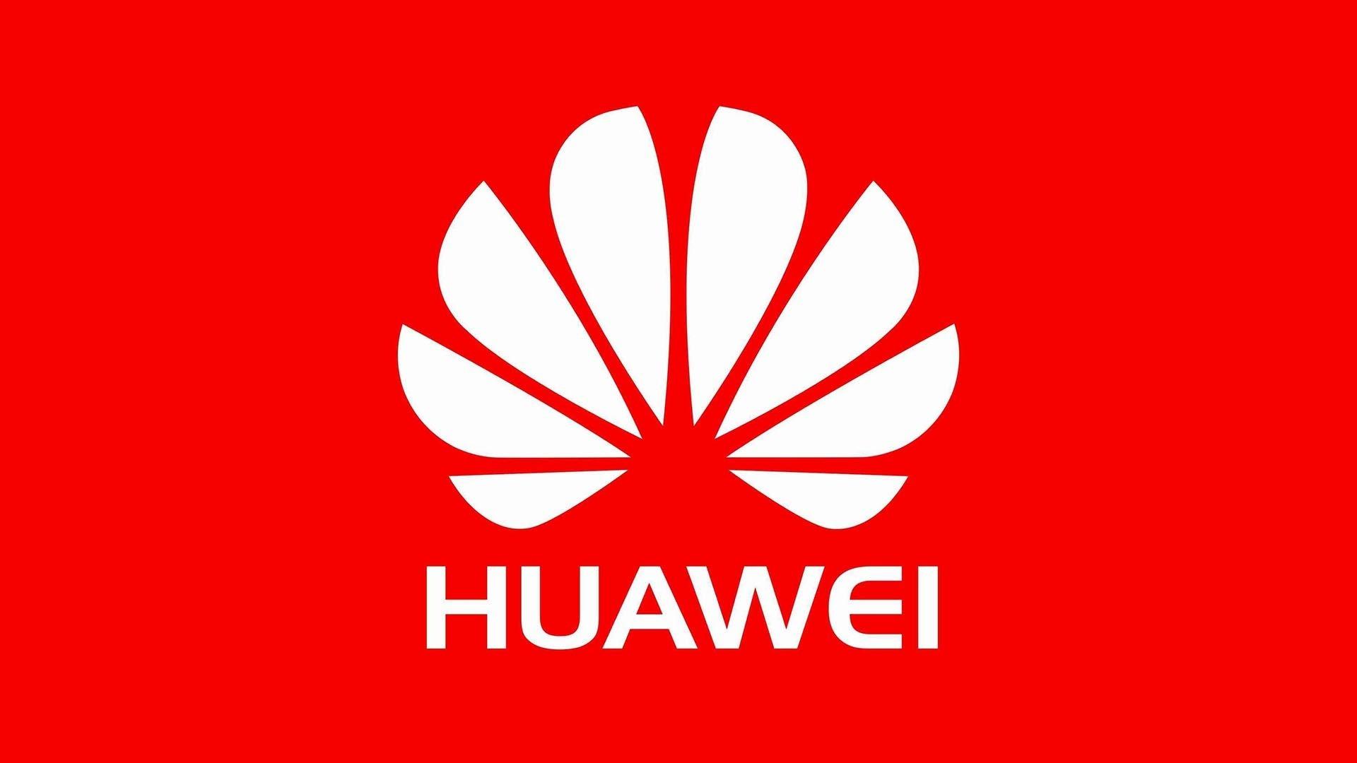 Huawei logo vermelho