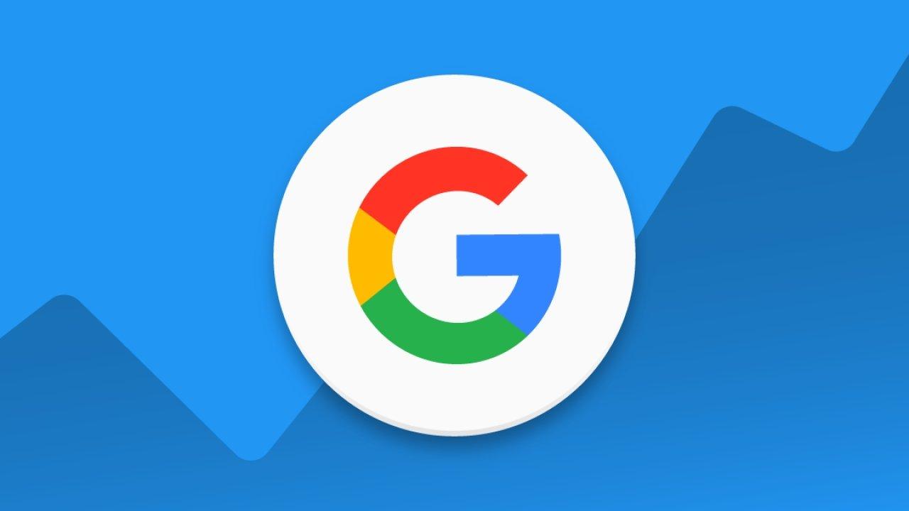 google logo azul