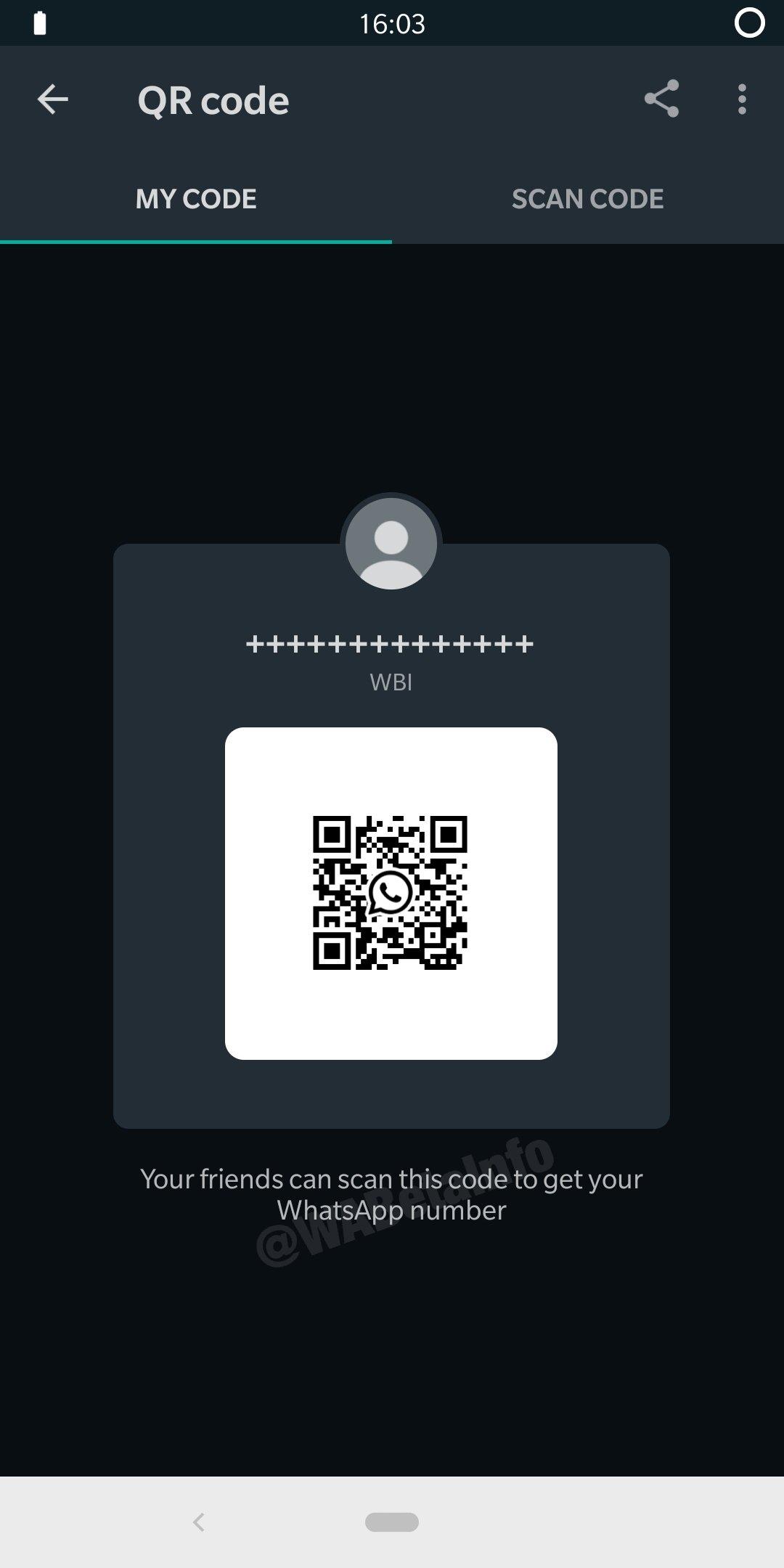 exemplo de código qr whatsapp