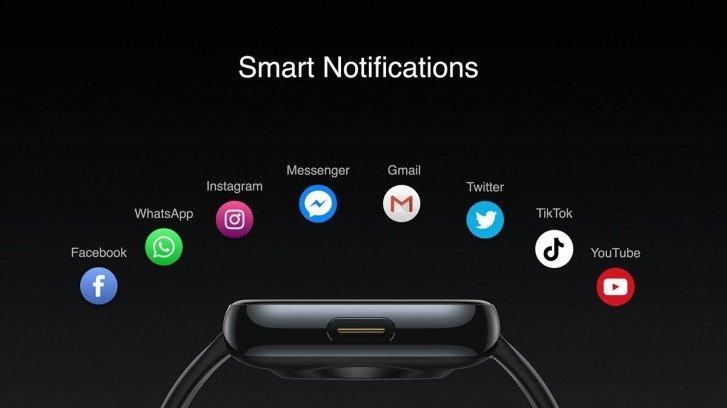 notificações realme watch inteligente