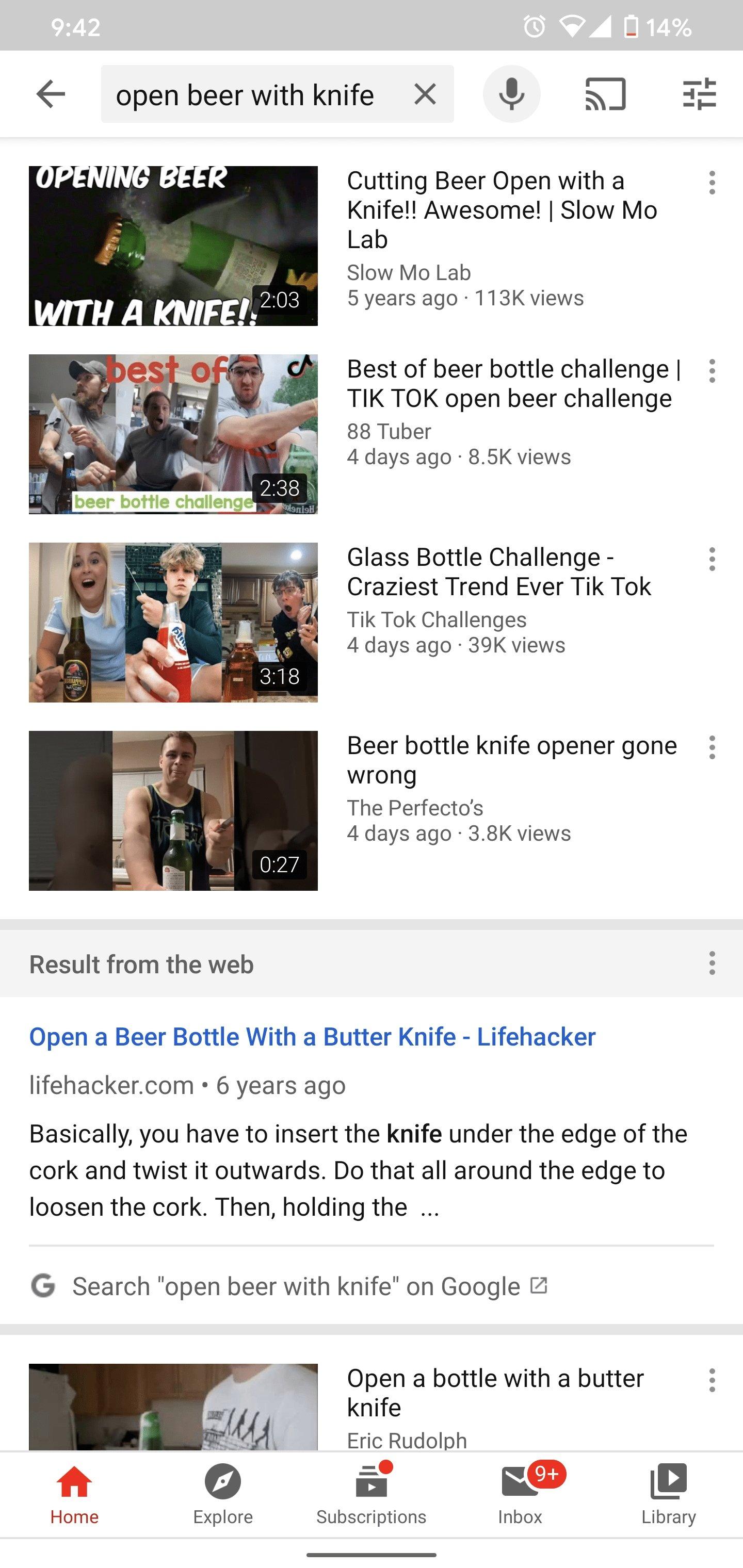 pesquisa YouTube com a google
