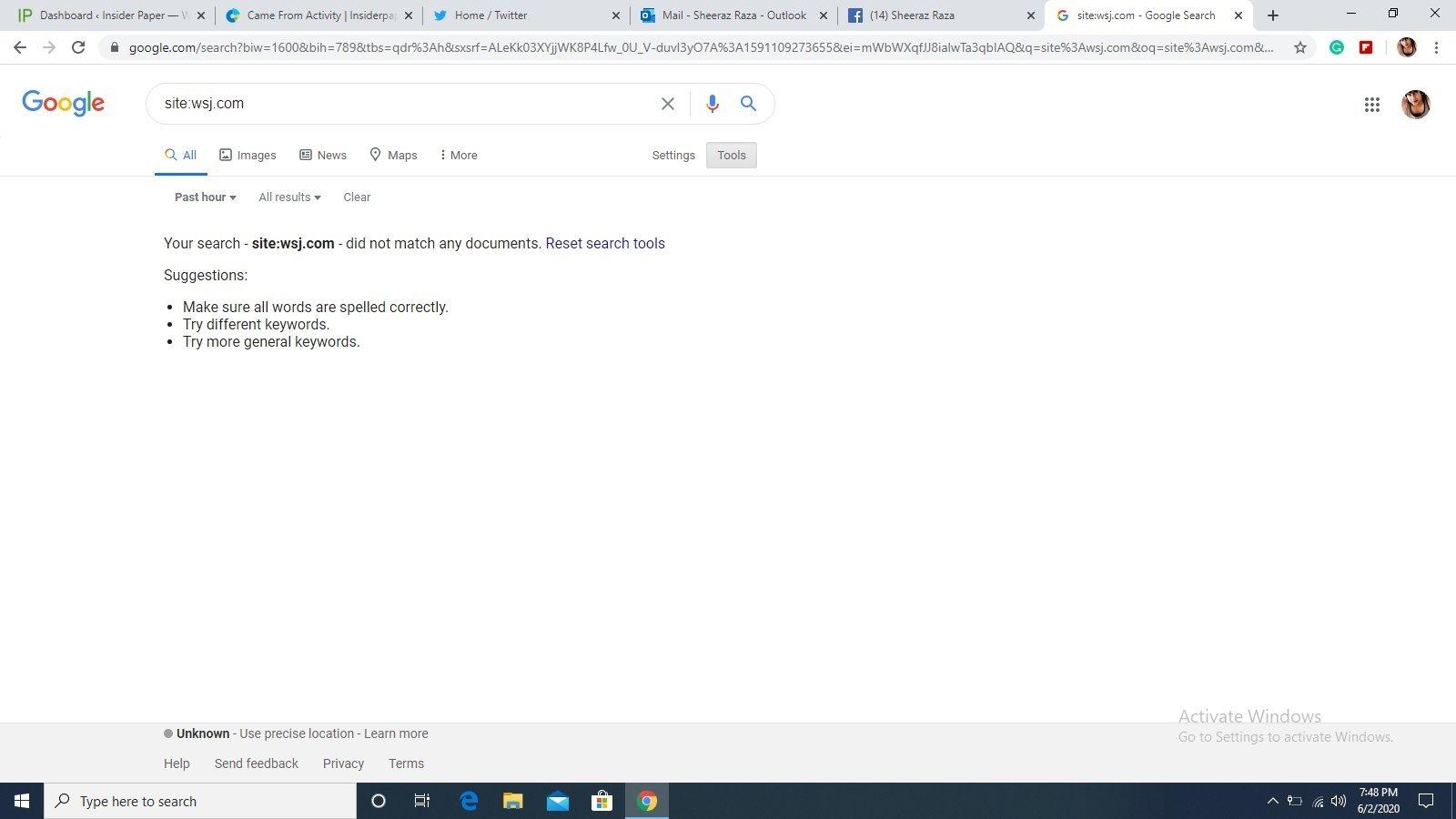 problema pesquisa google