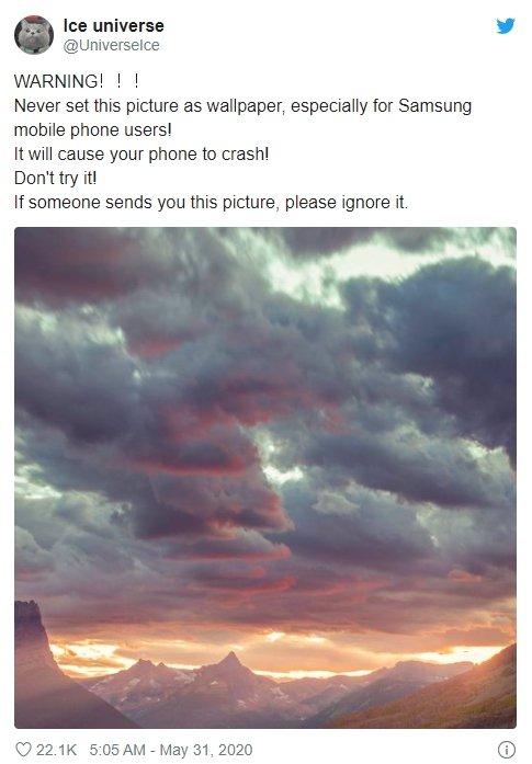 imagem wallpaper crash android