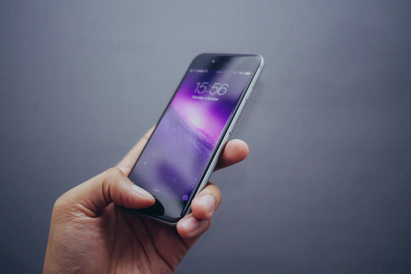 smartphone aplicação iOS iPhone