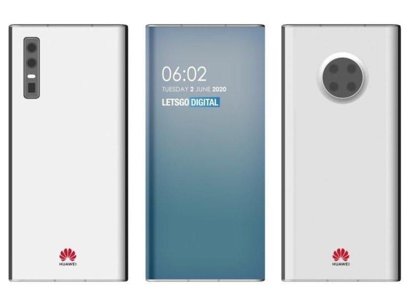 Huawei patente registo smartphone