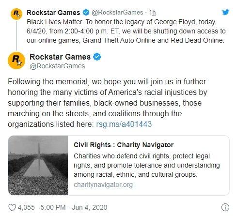 rockstar encerramento temporário jogo online