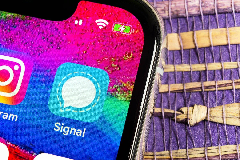 Signal aplicação android ios