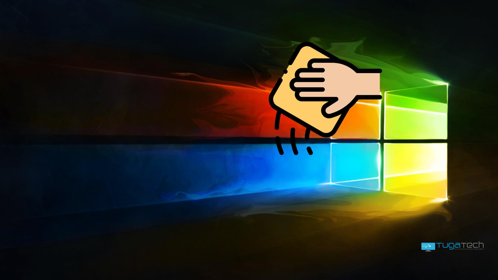 Windows 10 limpeza