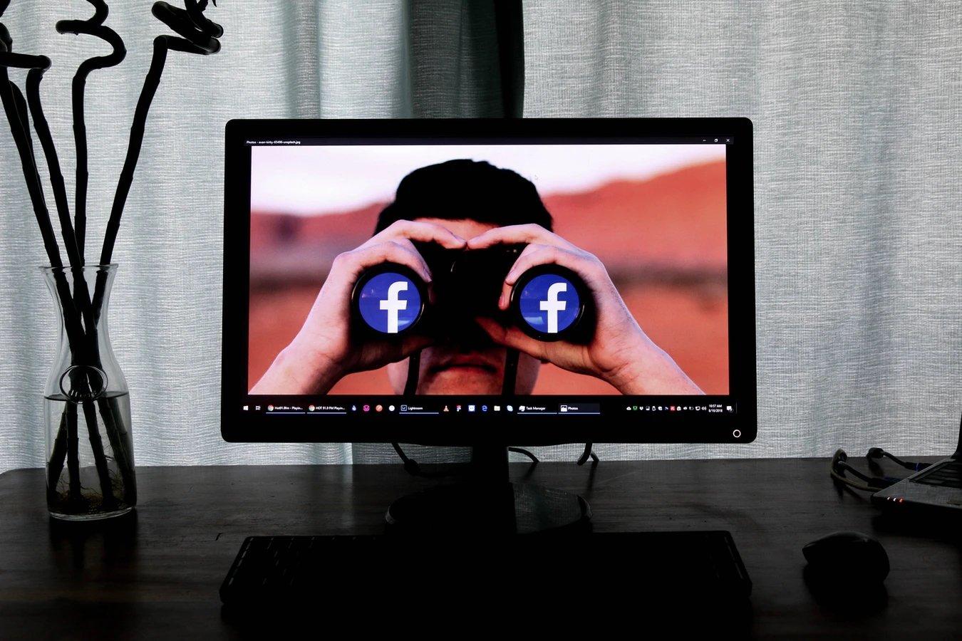 Facebook binoculos