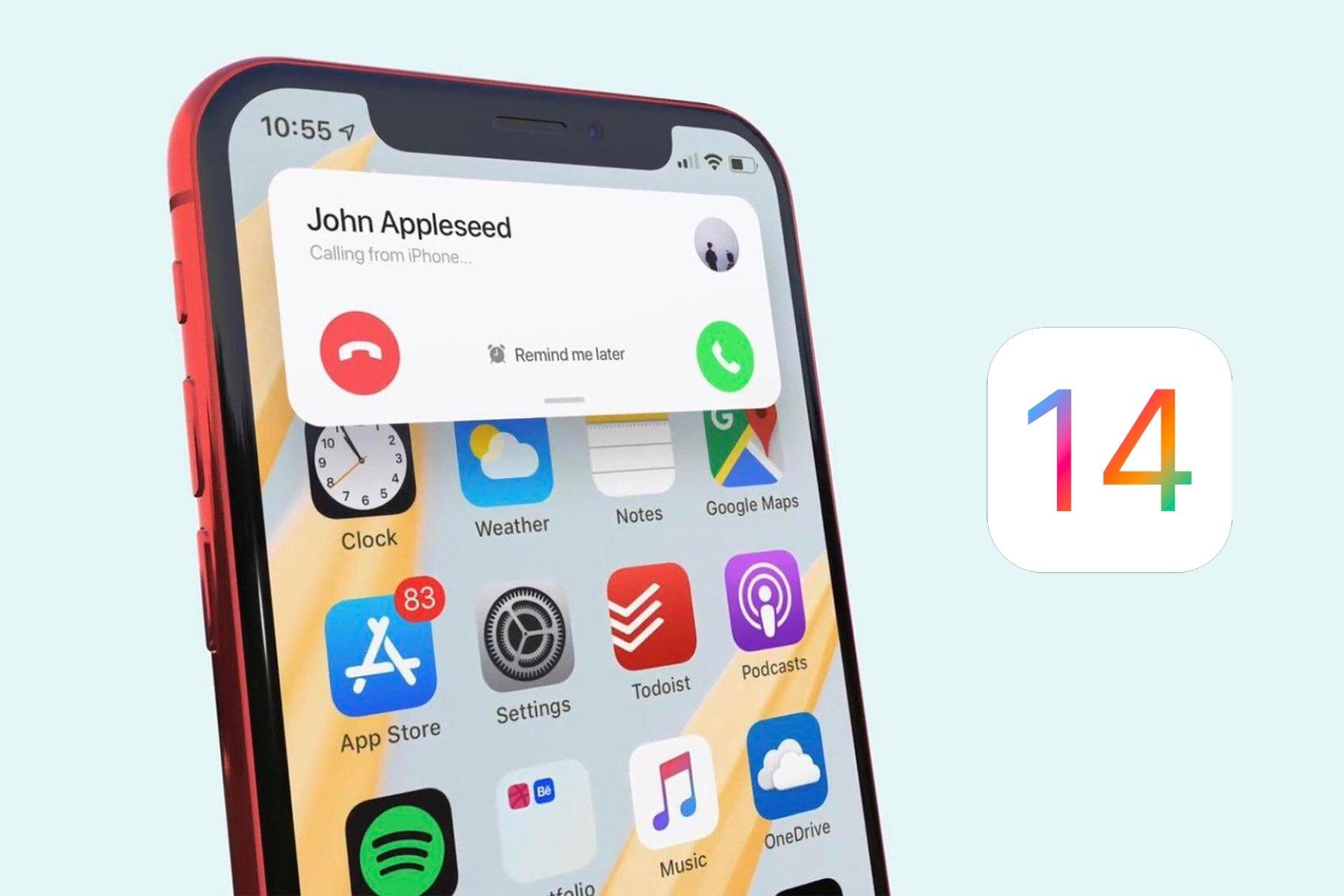 iOS 14 chamadas