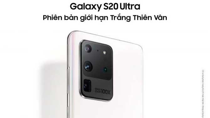 Samsung Galaxy s20 ultra white