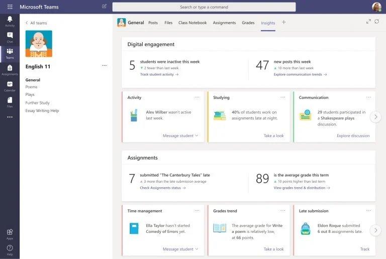 Microsoft teams para educadores