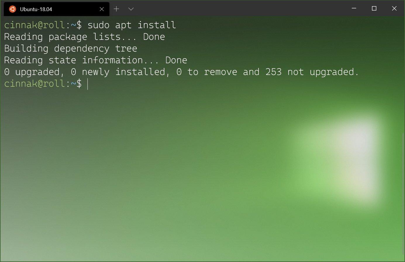 Windows Terminal 1.1 Preview