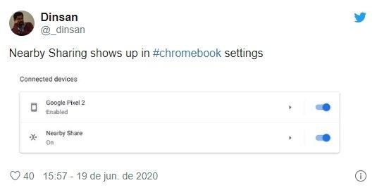 descoberta google chromebook
