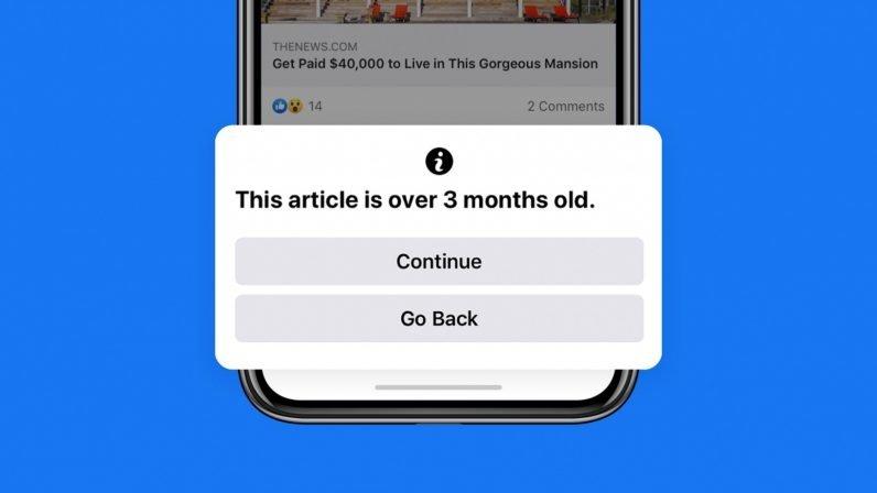Facebook alerta 90 dias