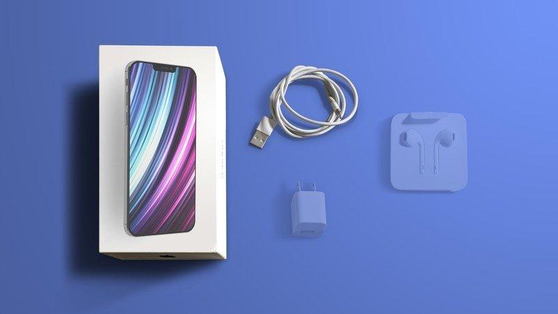iPhone caixa