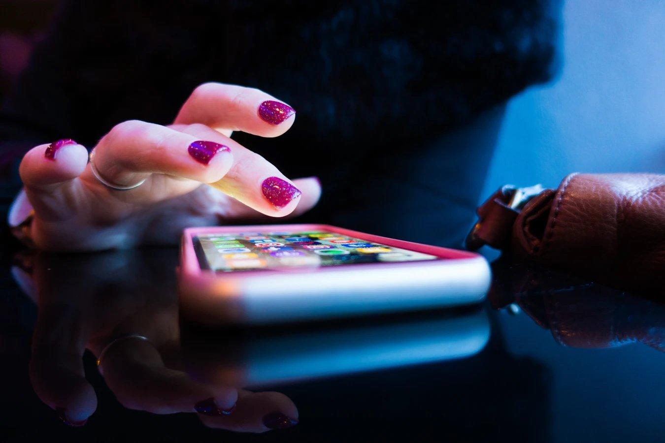 aplicação smartphone