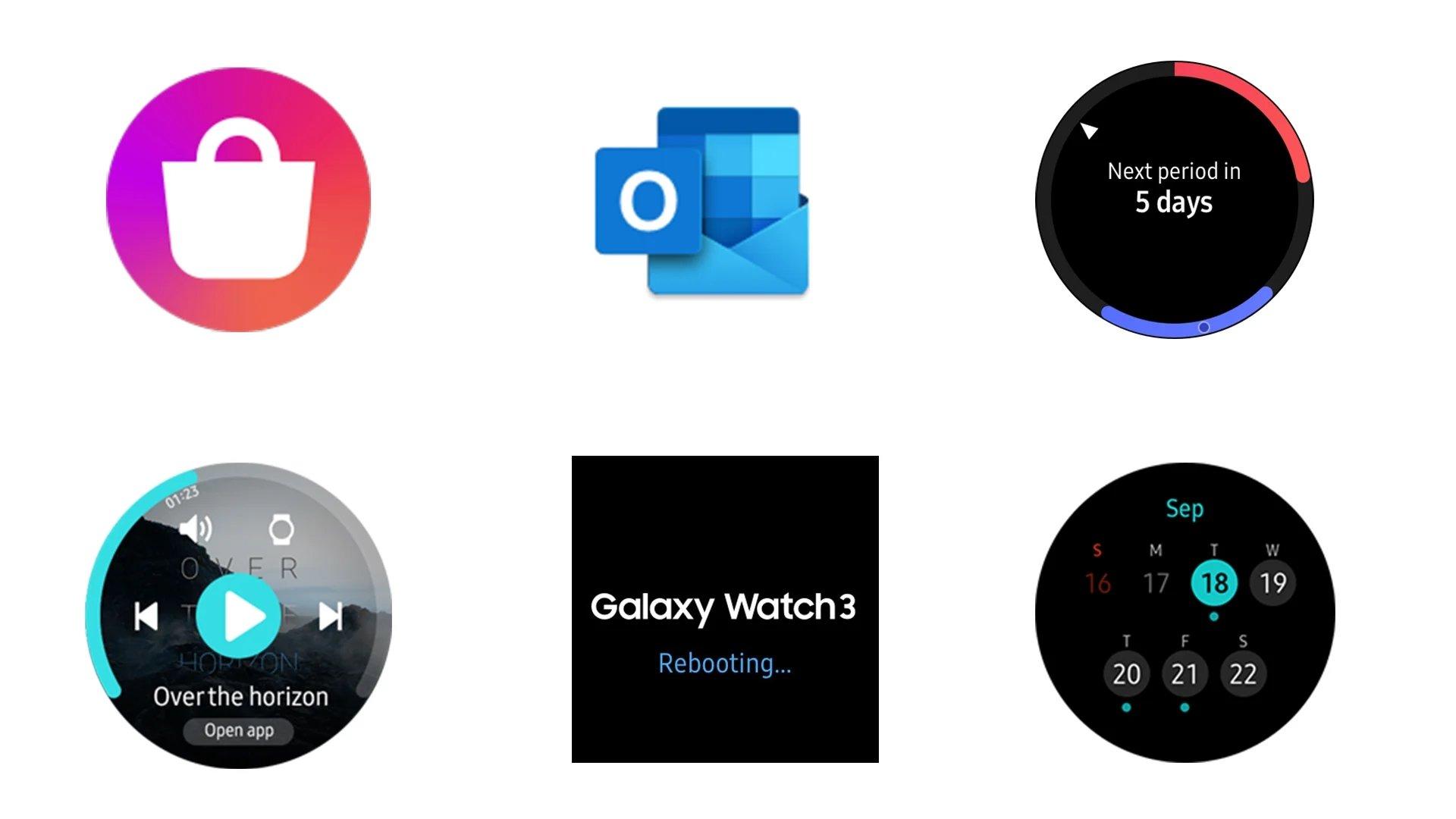 apps galaxy watch 3