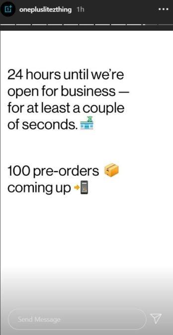 OnePlus vendas