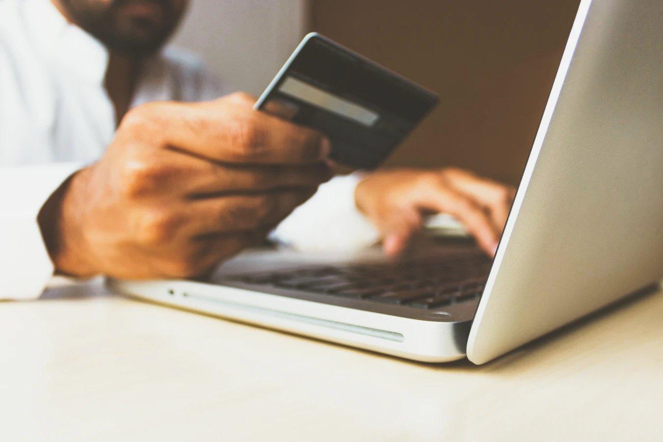 Loja online compra cartão de crédito