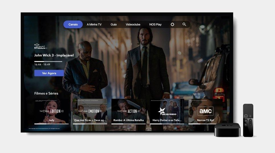 Apple TV na NOS