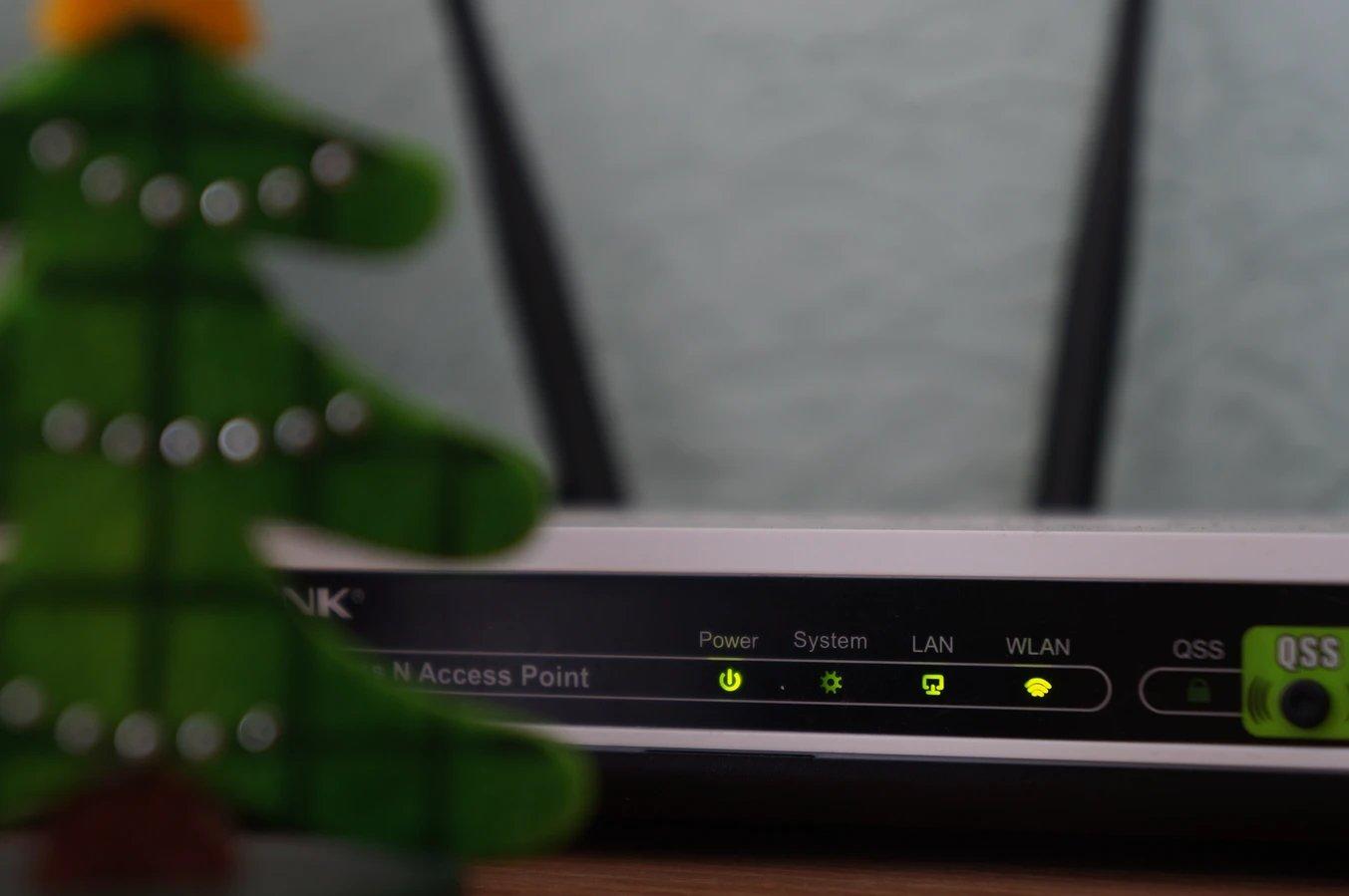 Router domestico em casa