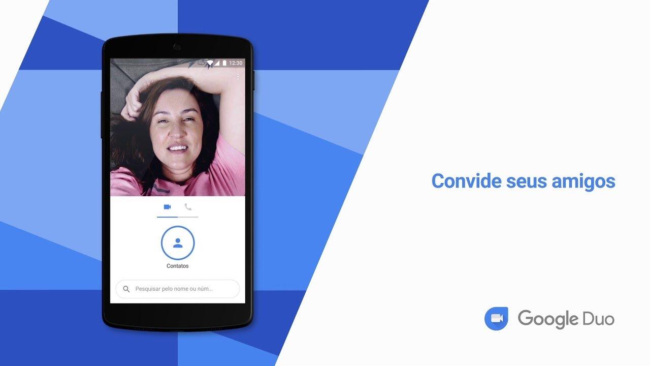 Google Duo chamada