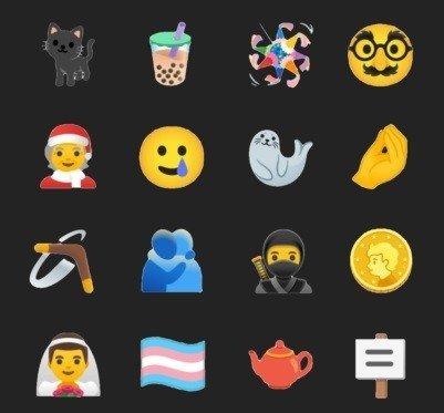novos emojis gboard beta