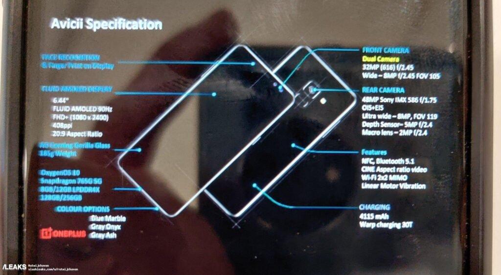 OnePlus nord leak