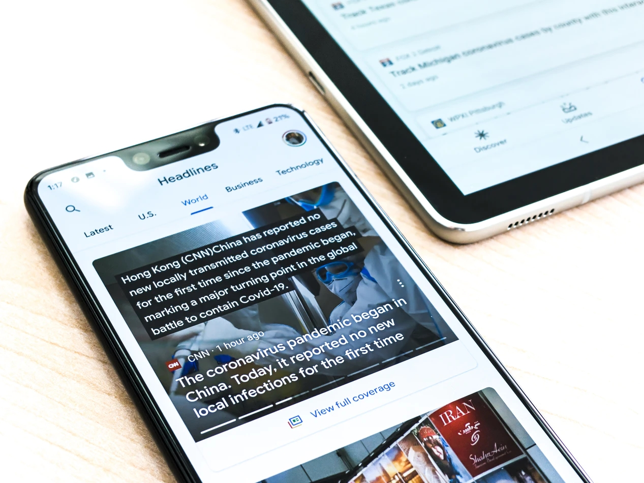 google news smartphone