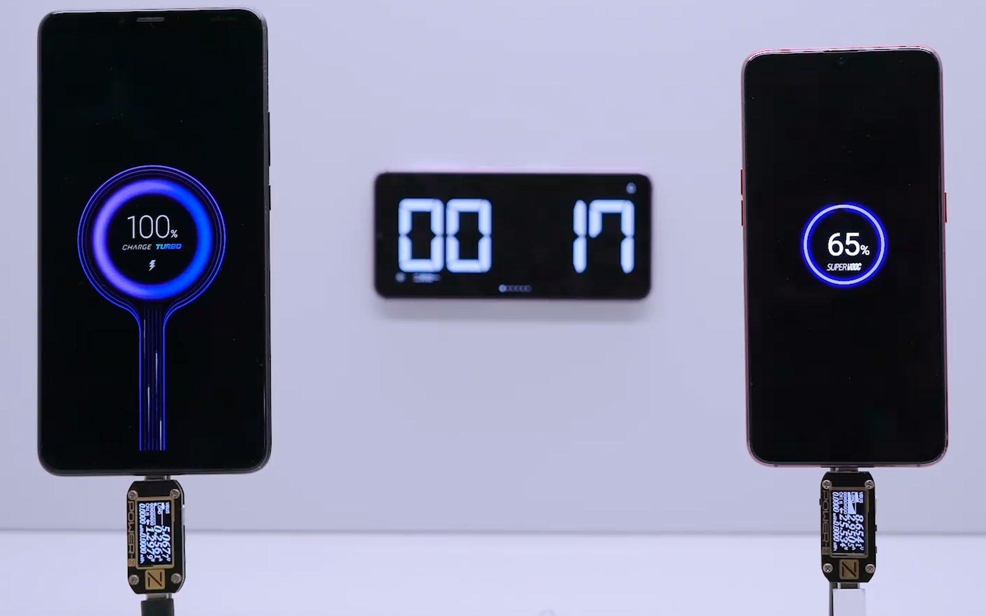 Xiaomi smartphone carregamento rapido