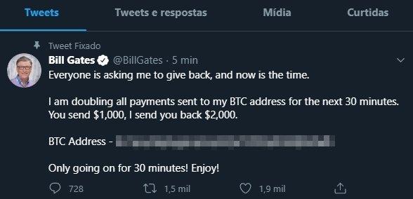 Bill gates twitter bitcoin