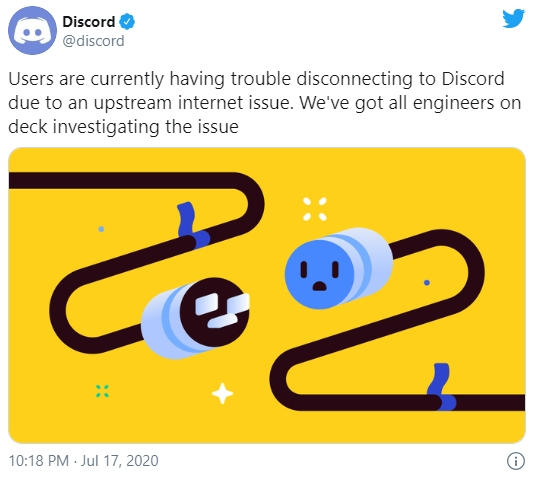 falha discord