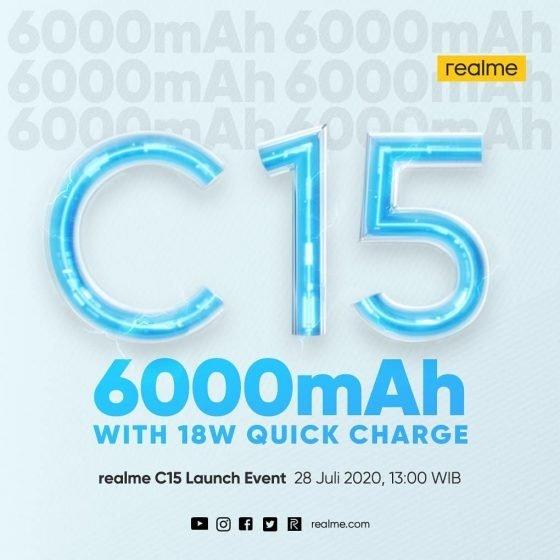 imagem bateria c15 realme