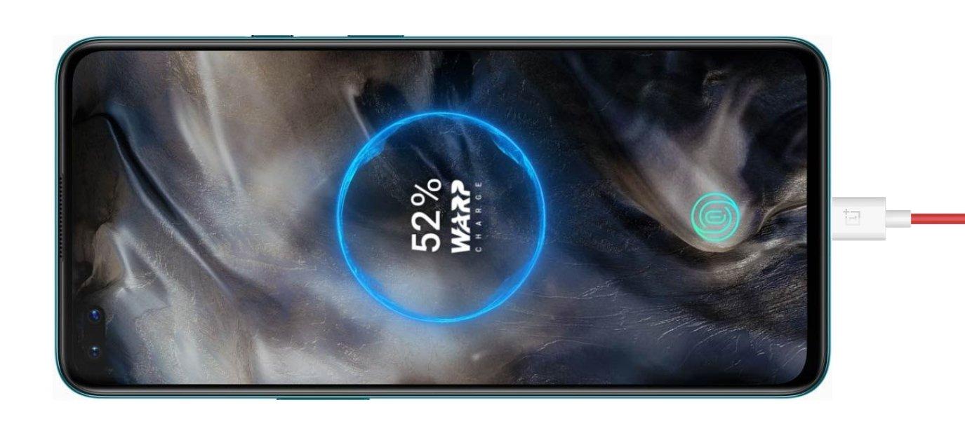 carregamento OnePlus Nord
