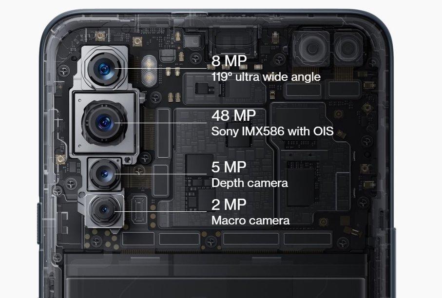 câmaras OnePlus nord