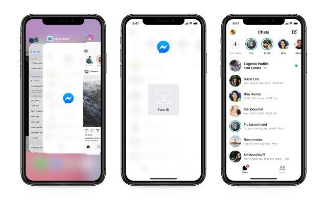Messenger privacidade