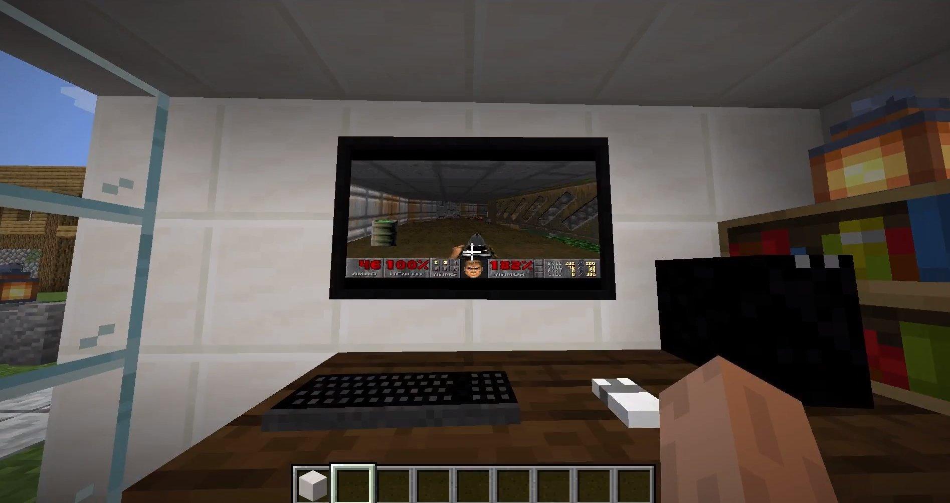 Minecraft e Doom