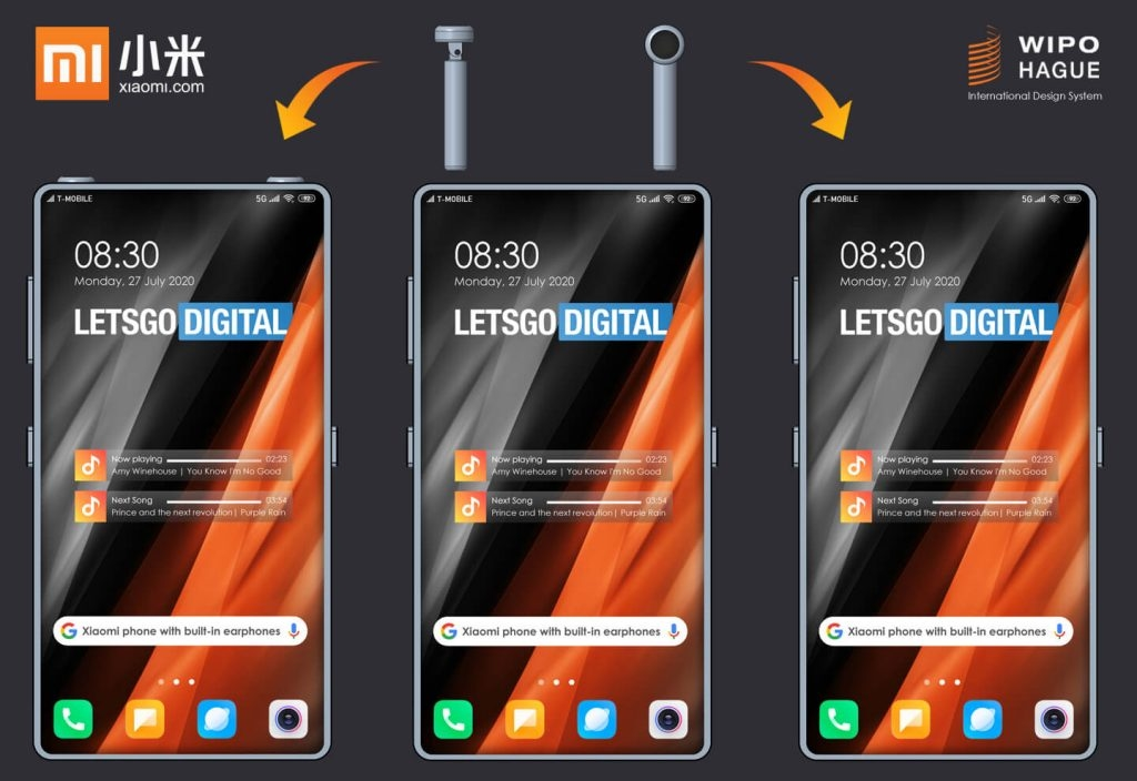 Xiaomi smartphone headphones