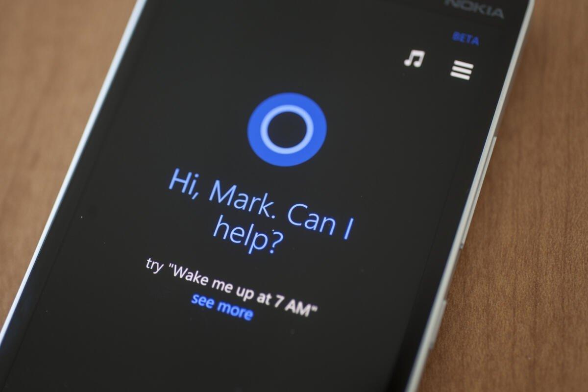 Cortana Android e iOS