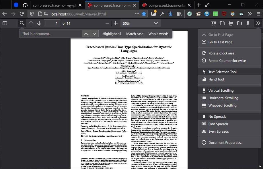 PDF Firefox 81