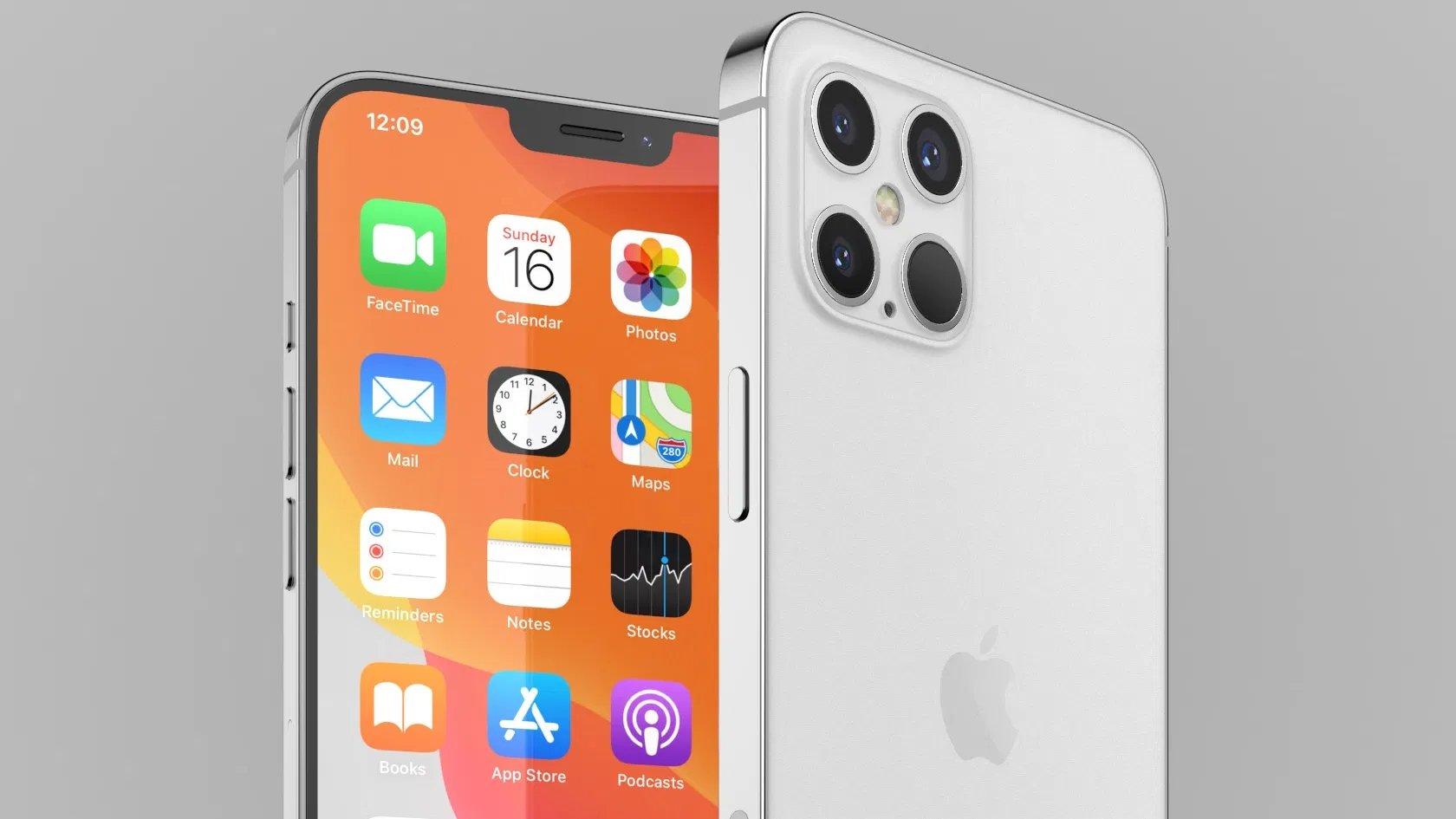 iPhone 12 conceito