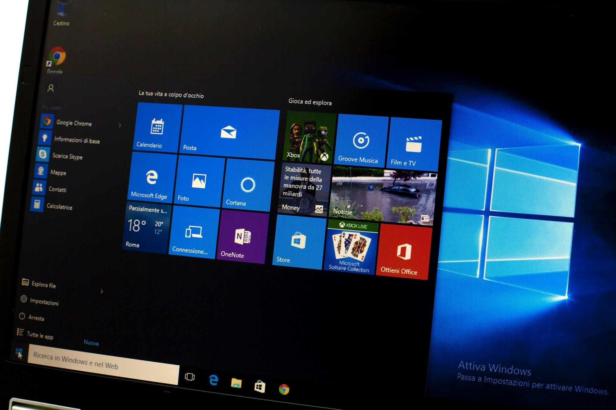 Windows 10 sistema