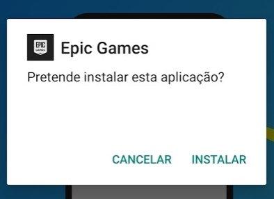 Epic Games instalar