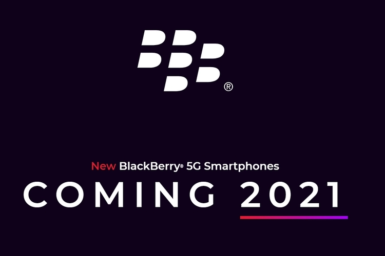 Blackberry logo 2021