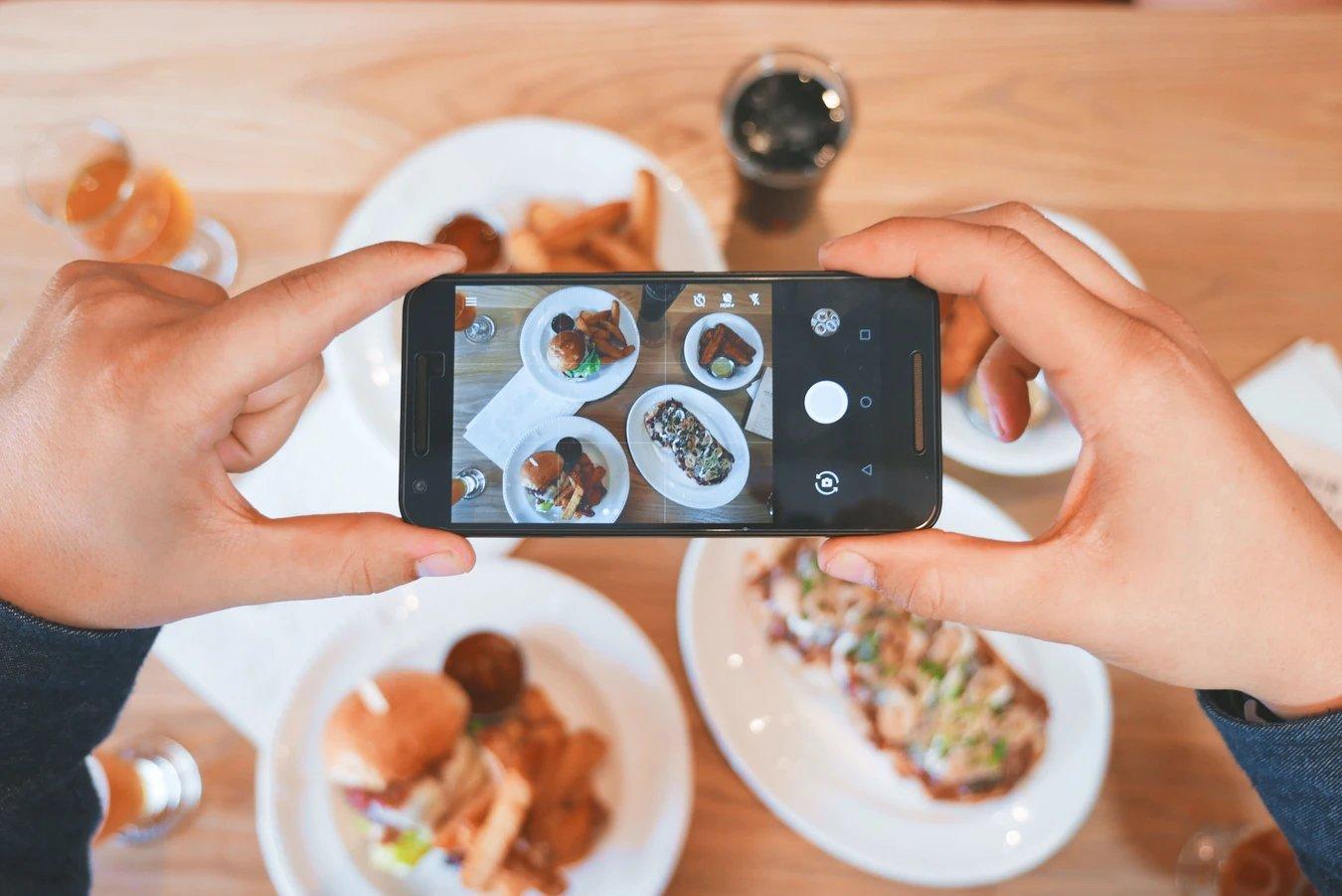 Android câmara smartphone