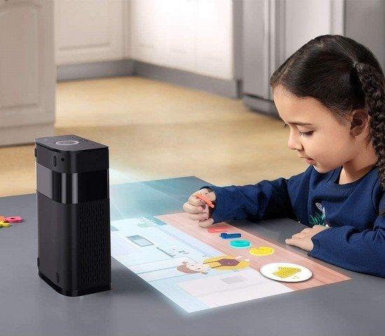 reconhecimento projetor objetos