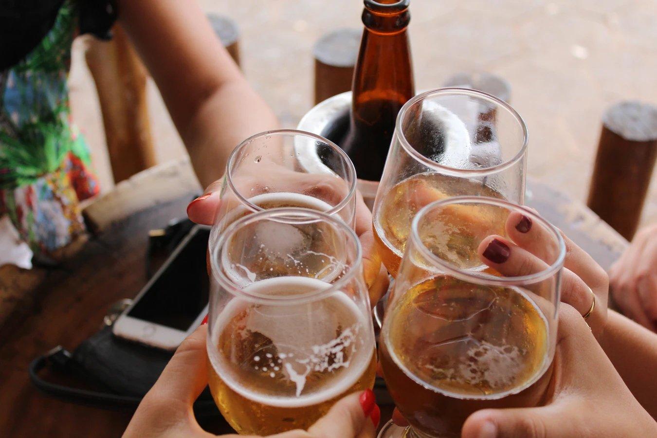 Alcool e cerveja